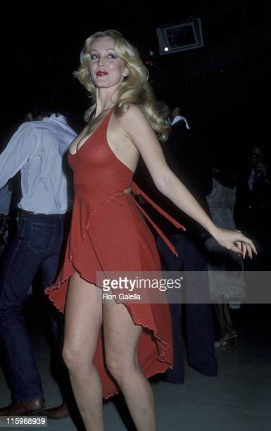 Cheryl Rixon attends the party for Roberta Flack on June 12 1978 at Xenon Disco in New York City