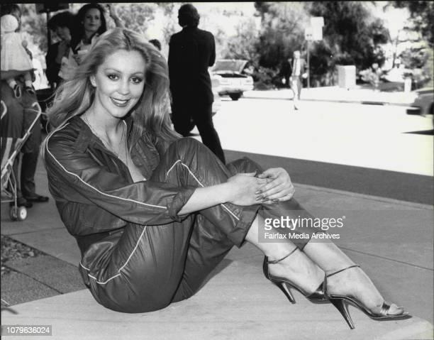 Cheryl Rixon Penthouse Model returns to Sydney today October 31 1979
