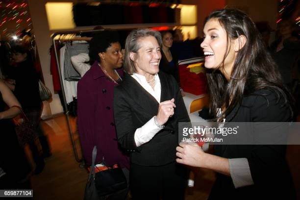 Cheryl Rothrogers and Allison Fast attend The LearnVest Launch Party at The Limited PopUp Store on December 2 2009 in New York