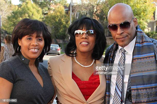Cheryl Ruffin Cheryl Ruffin and David Ruffin Jr attend the Recording Academy's Special Merit Awards ceremony held at The Wilshire Ebell Theatre on...