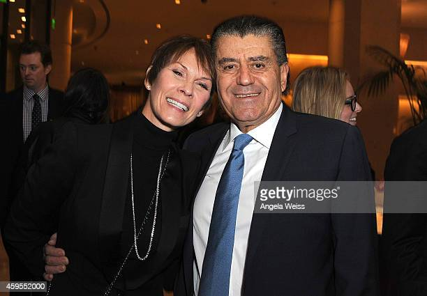 Cheryl Saban and Haim Saban attend Saban Community Clinic's 38th Annual Dinner at The Beverly Hilton Hotel on November 24 2014 in Beverly Hills...