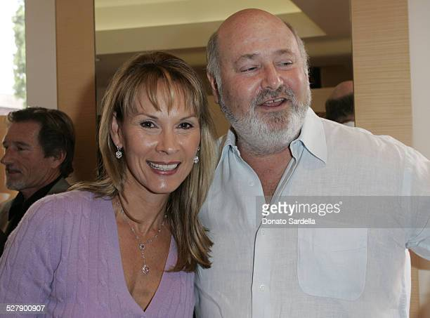 Cheryl Saban and Rob Reiner during Kelly and Martin Katz Join Irena and Mike Medavoy to Celebrate the Launch of Cheryl Saban's Newest Book Recipe For...