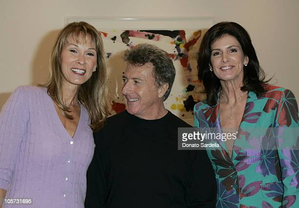 Cheryl Saban Dustin Hoffman and Kelly Katz during Kelly and Martin Katz Join Irena and Mike Medavoy to Celebrate the Launch of Cheryl Saban's Newest...