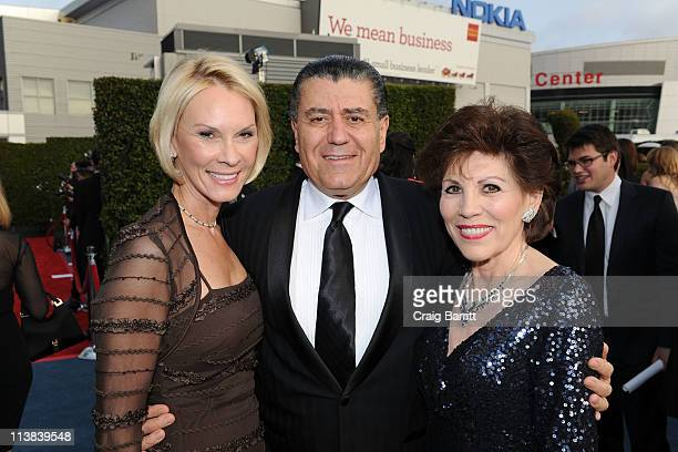 Cheryl Saban Haim Saban and Marion Anderson arrive at Dream For Kids Grand Opening Gala supported by AEG and presented by Starz LLC benefitting...