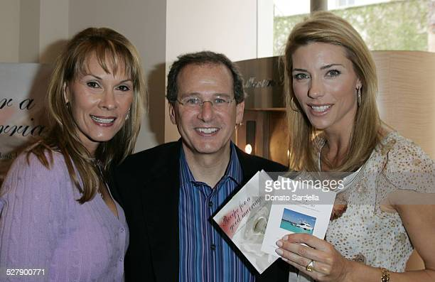 Cheryl Saban Martin Katz and Jennifer Flavin during Kelly and Martin Katz Join Irena and Mike Medavoy to Celebrate the Launch of Cheryl Saban's...