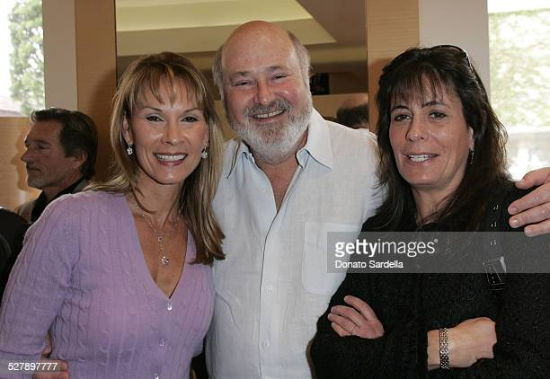 Cheryl Saban Rob Reiner and Michele Reiner during Kelly and Martin Katz Join Irena and Mike Medavoy to Celebrate the Launch of Cheryl Saban's Newest...