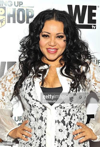 Cheryl Salt James attends as WE tv Celebrates The Premiere Of New Series Growing Up Hip Hop on December 10 2015 in New York City