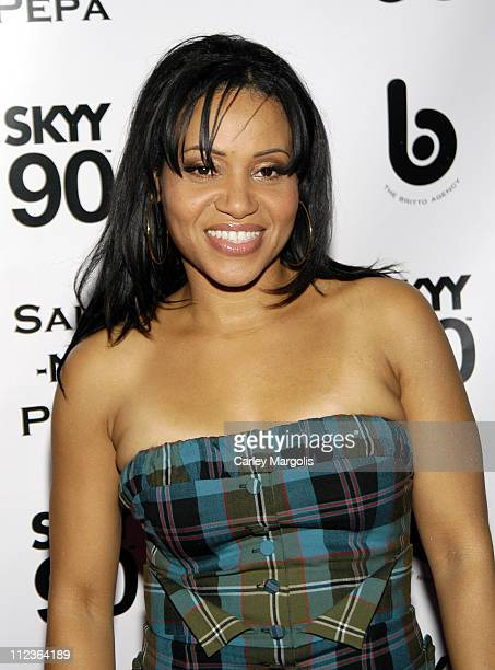 Cheryl Salt James of SaltNPepa honoree during 2005 VH1 Hip Hop Honors SaltNPepa After Party at Taj in New York City New York United States