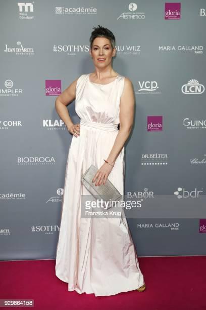 Cheryl Shepard attends the Gloria Deutscher Kosmetikpreis at Hilton Hotel on March 9 2018 in Duesseldorf Germany
