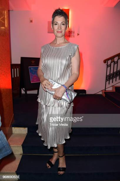 Cheryl Shepard attends the Studio Hamburg Nachwuchspreis on June 6 2018 in Hamburg Germany