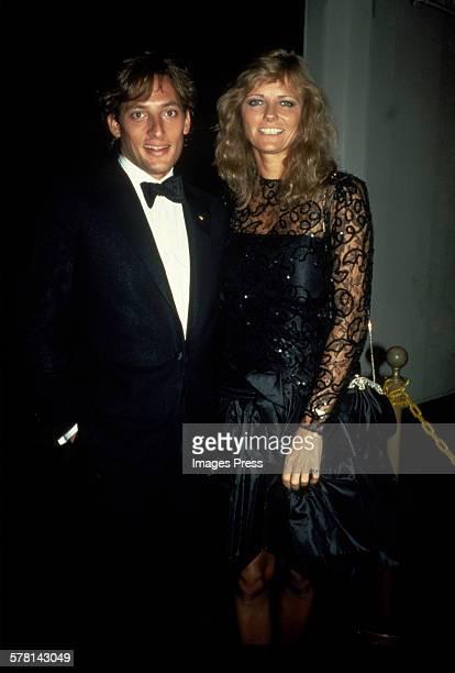 Cheryl Tiegs and Anthony Peck circa 1984 in New York City