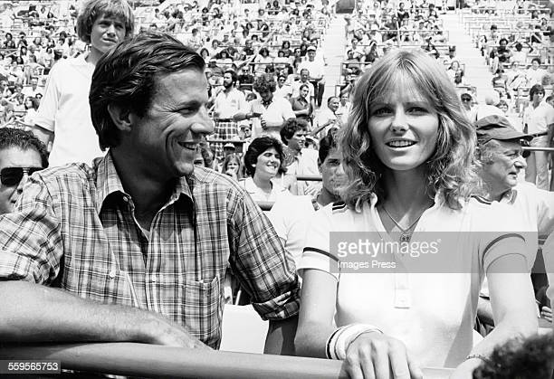 Cheryl Tiegs and Peter Beard circa 1979 in Forest Hills Queens