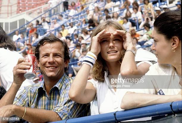 Cheryl Tiegs and Peter Beard circa 1979 in New York City