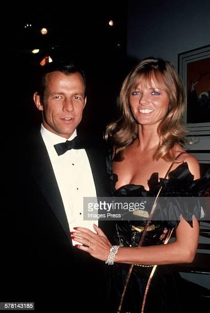 Cheryl Tiegs and Peter Beard circa 1982 in New York City