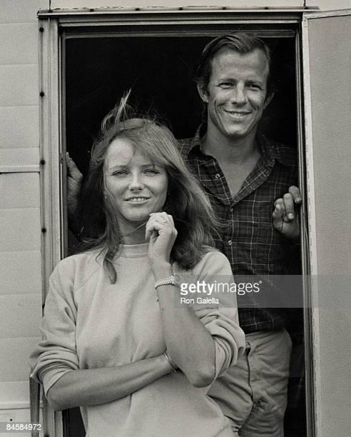Cheryl Tiegs and Peter Beard