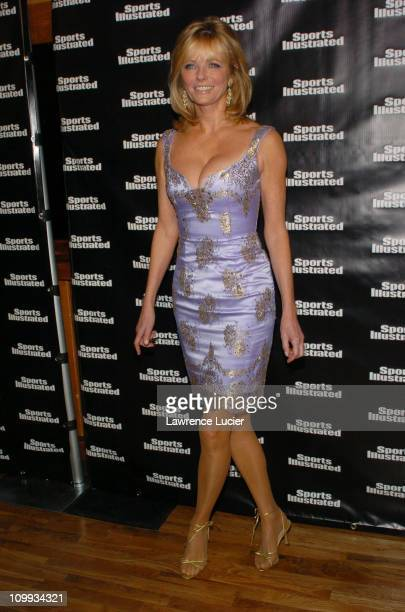Cheryl Tiegs during 2004 Sports Illustrated Swimsuit Issue 40th Anniversary Edition at Club Deep in New York City New York United States