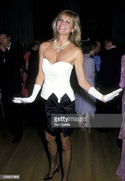 Cheryl Tiegs during 2nd Annual Manhattan Awards May 18 1988 at Plaza Hotel in New York City New York United States