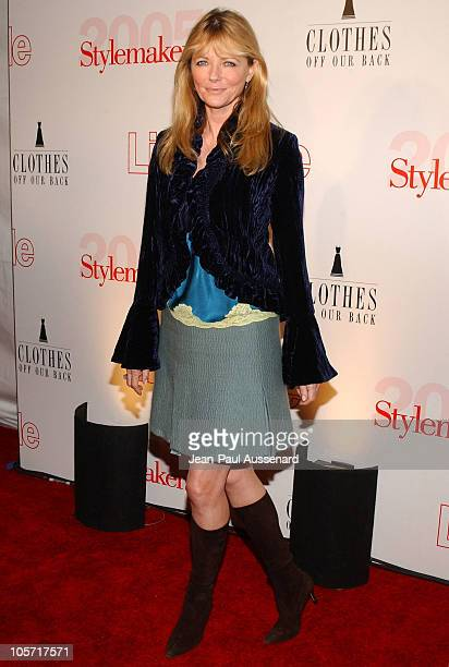 Cheryl Tiegs during Life Style Magazine Presents Stylemakers 2005 Arrivals at Montmartre lounge in Hollywood California United States