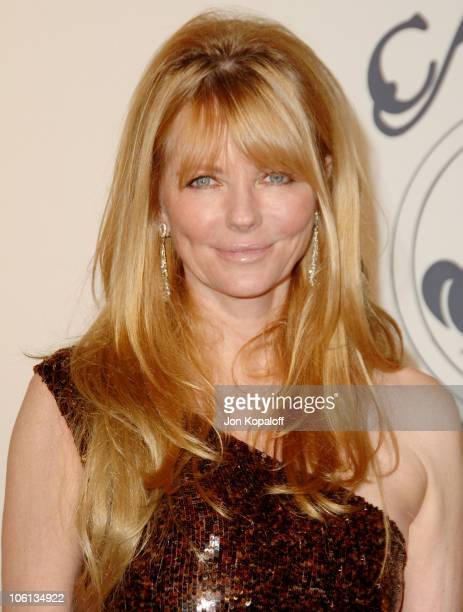 Cheryl Tiegs during MercedesBenz Presents the 17th Carousel of Hope Ball Arrivals at Beverly Hilton Hotel in Beverly Hills California United States
