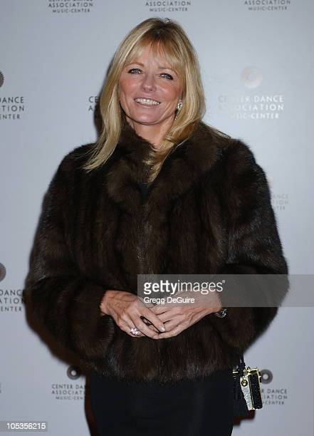 Cheryl Tiegs during NYC Ballet BlackTie Gala Opening at Dorothy Chandler Pavilion in Los Angeles California United States