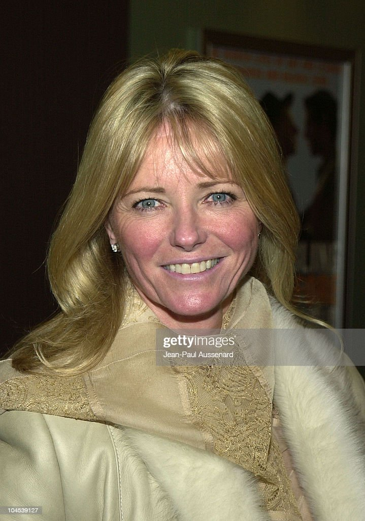 Cheryl Tiegs during Screening of 'Chop Suey' Directed by Bruce Weber at Laemmle Fairfax Theatre in Los Angeles, California, United States.