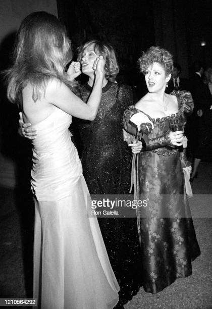 Cheryl Tiegs, Lauren Hutton and Bernadette Peters attend 11th Annual Diana Vreeland Costume Exhibition at The Metropolitan Museum of Art in New York...