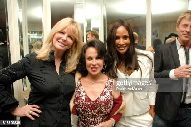 Cheryl Tiegs Nikki Haskell and Beverly Johnson attend Mayor Antonio Villaraigosa celebrates Nikki Haskell's Birthday at Sierra Towers on May 17th...