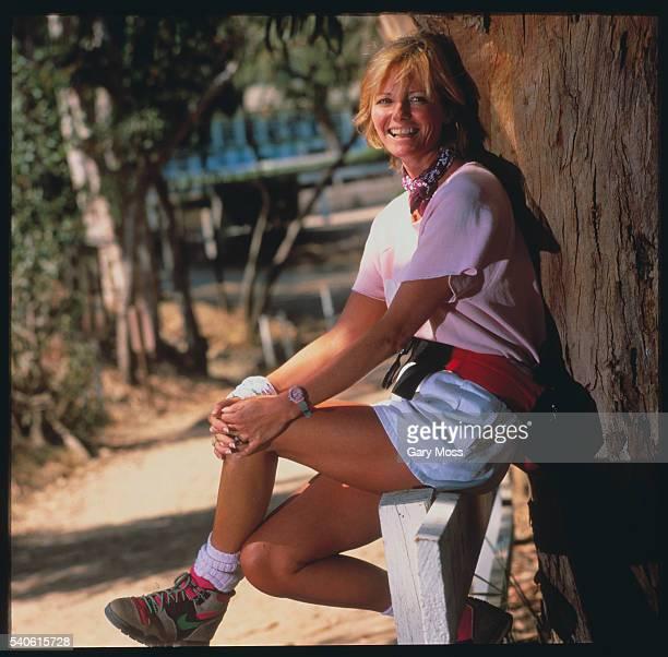 Cheryl Tiegs on Trail