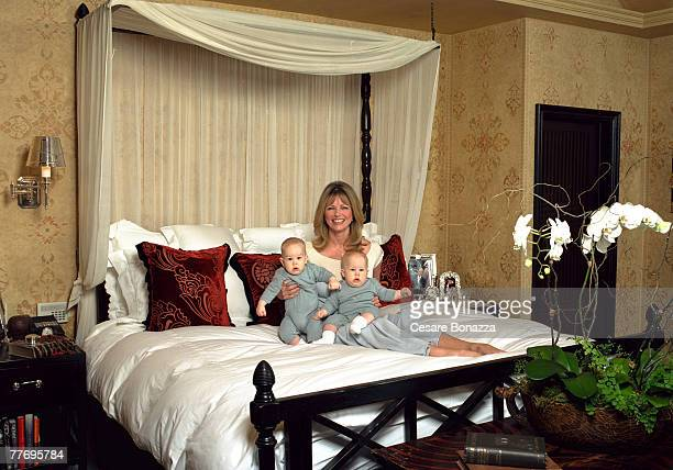 Cheryl Tiegs Private home in Beverly Hills Cheryl Tiegs Self Assignment May 4 2002 Beverly Hills California
