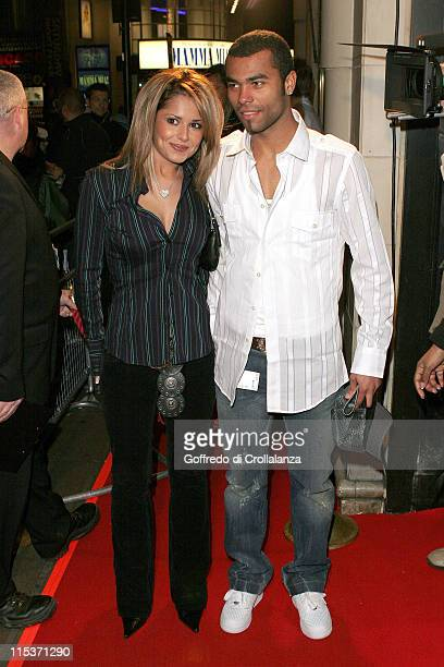 Cheryl Tweedy and Ashley Cole during Rhythm City Volume 1 Money Power Respect London Screening at Rex Cinema Bar in London Great Britain
