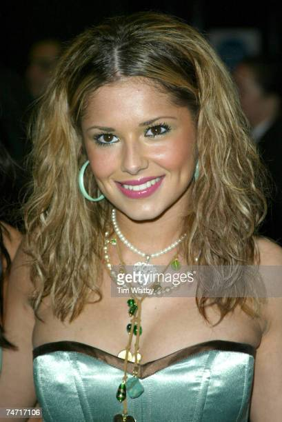 Cheryl Tweedy of Girls Aloud at the Park Lane Hotel in London United Kingdom