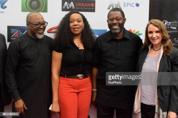Cheryl UysAllie Director Africa MultiChoice Talent Factory Femi Odugbemi Academy Director West Africa MultiChoice Talent Factory Wangi MbaUzoukwu...