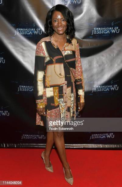 Cheryl Williams attends the Chronicles of Jessica Wu Season 2 premiere at SAGAFTRA Foundation Screening Room on April 20 2019 in Los Angeles...