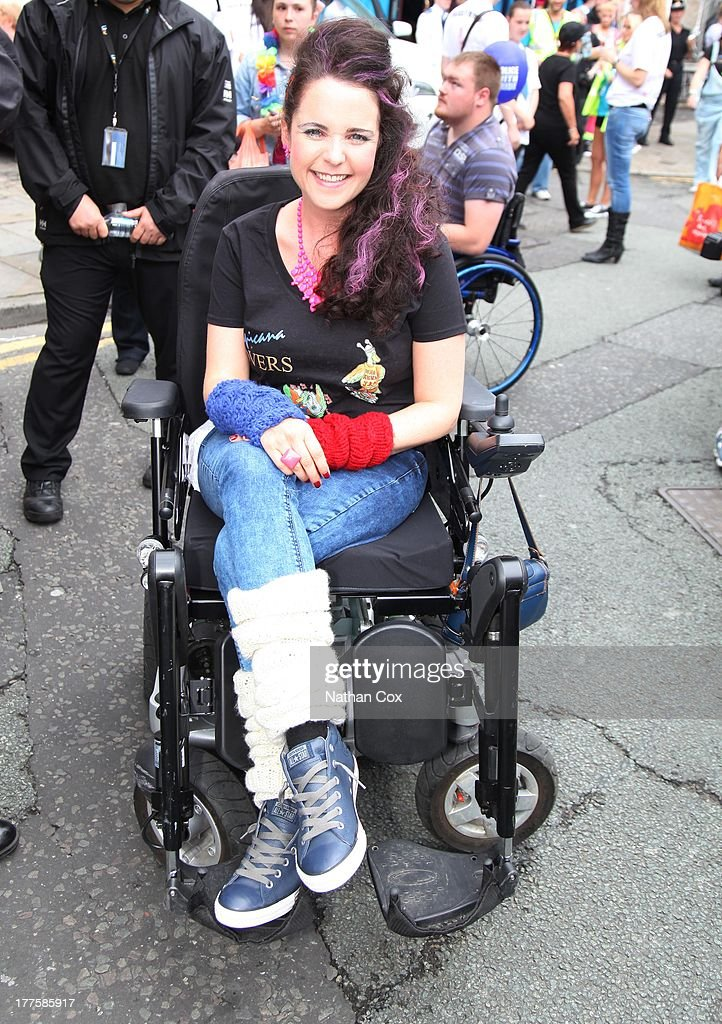 Cherylee Houston attends Manchester Pride on August 24, 2013 in Manchester, England.