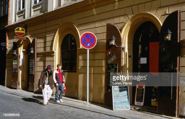 O'Ches Cuban Bar in Old Town Prague.