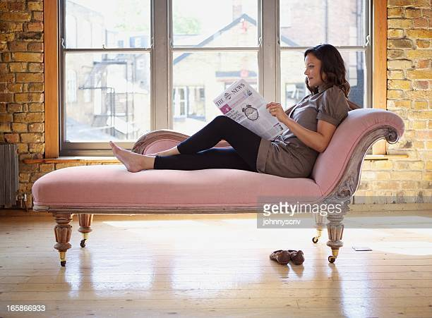 che's lounge... - chaise longue stock photos and pictures