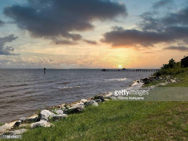 chesapeake bay in maryland - chesapeake bay stock pictures, royalty-free photos & images