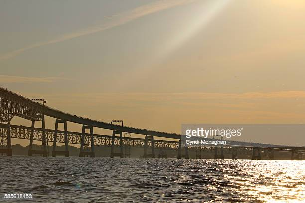 chesapeake bay - chesapeake bay bridge stock pictures, royalty-free photos & images