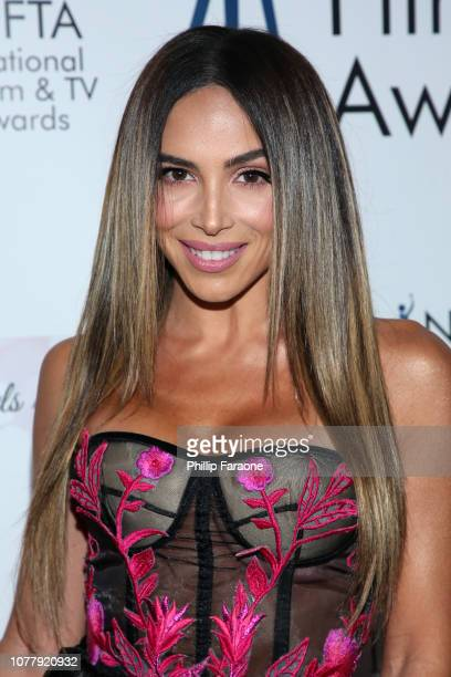 Chesca attends the National Film and Television Awards Ceremony at Globe Theatre on December 05 2018 in Los Angeles California