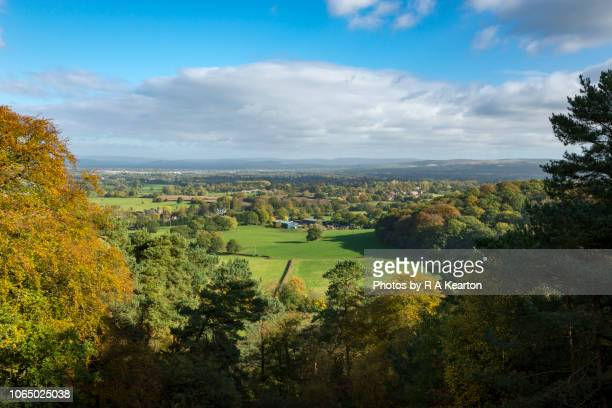 Cheshire countryside in early autumn, England, UK