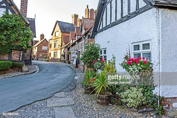 cheshire village - cheshire england stock pictures, royalty-free photos & images