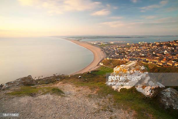 Chesil Beach and Weymouth