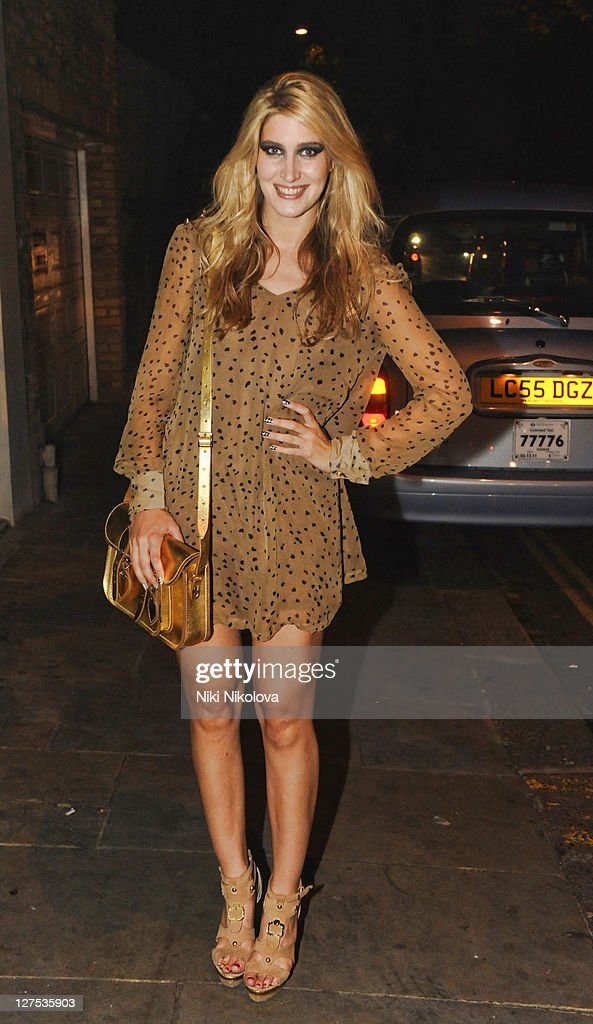 Cheska Hull attends Catwalk @ Kings Road at beaufort house on September 28, 2011 in London, England.
