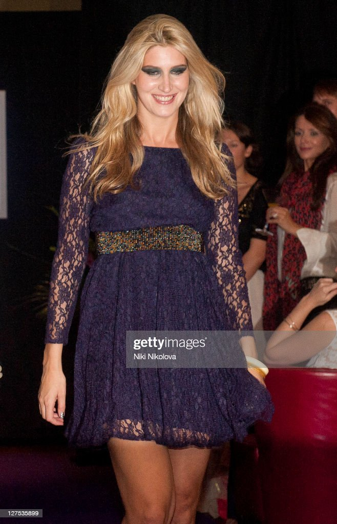 Cheska Hull walks the runway during Catwalk @ Kings Road at beaufort house on September 28, 2011 in London, England.