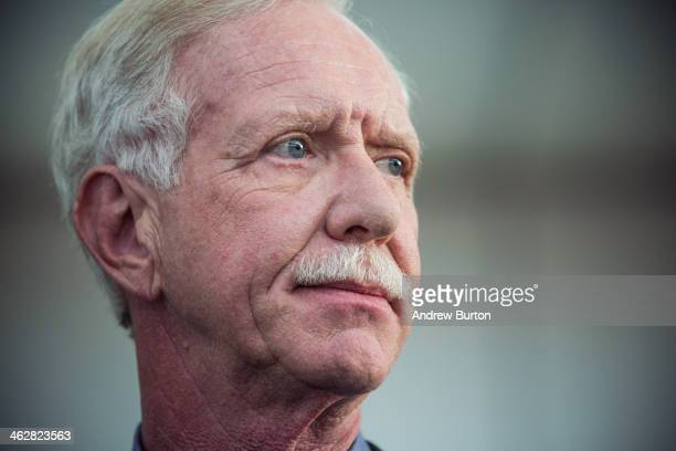 Chesley Sully Sullenberger a retired airline captain famous for landing a commercial jet on the Hudson River celebrates the fiveyear anniversary of...