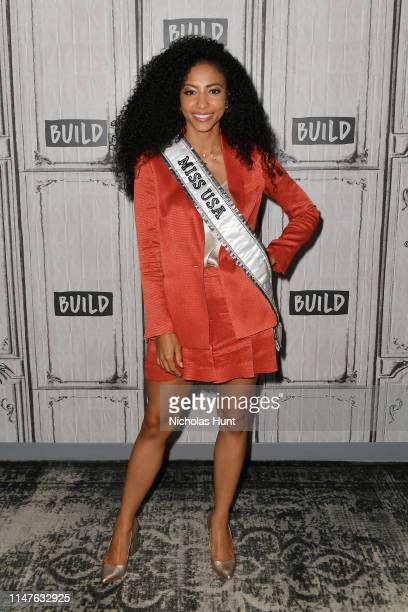 Cheslie Kryst visits the BUILD Series to discuss Winning Miss USA at Build Studio on May 07 2019 in New York City