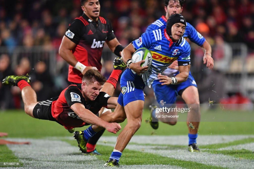 Super Rugby Rd 9 - Crusaders v Stormers