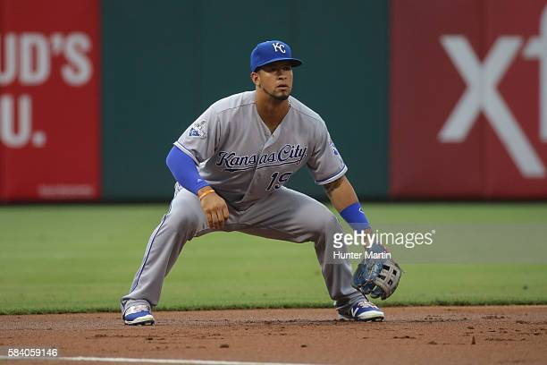 Cheslor Cuthbert of the Kansas City Royals during a game against the Philadelphia Phillies at Citizens Bank Park on July 1 2016 in Philadelphia...