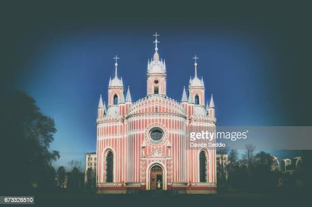 Chesme church in Saint Petersburg