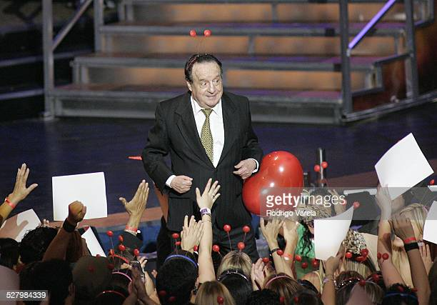 Chespirito during 2005 Premios Juventud Awards Show at University of Miami Convocation Center in Miami Florida United States